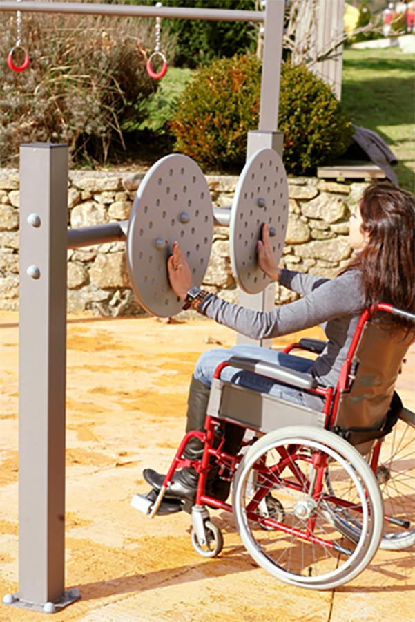 Spatii de joaca adaptate copiilor cu dizabilitati